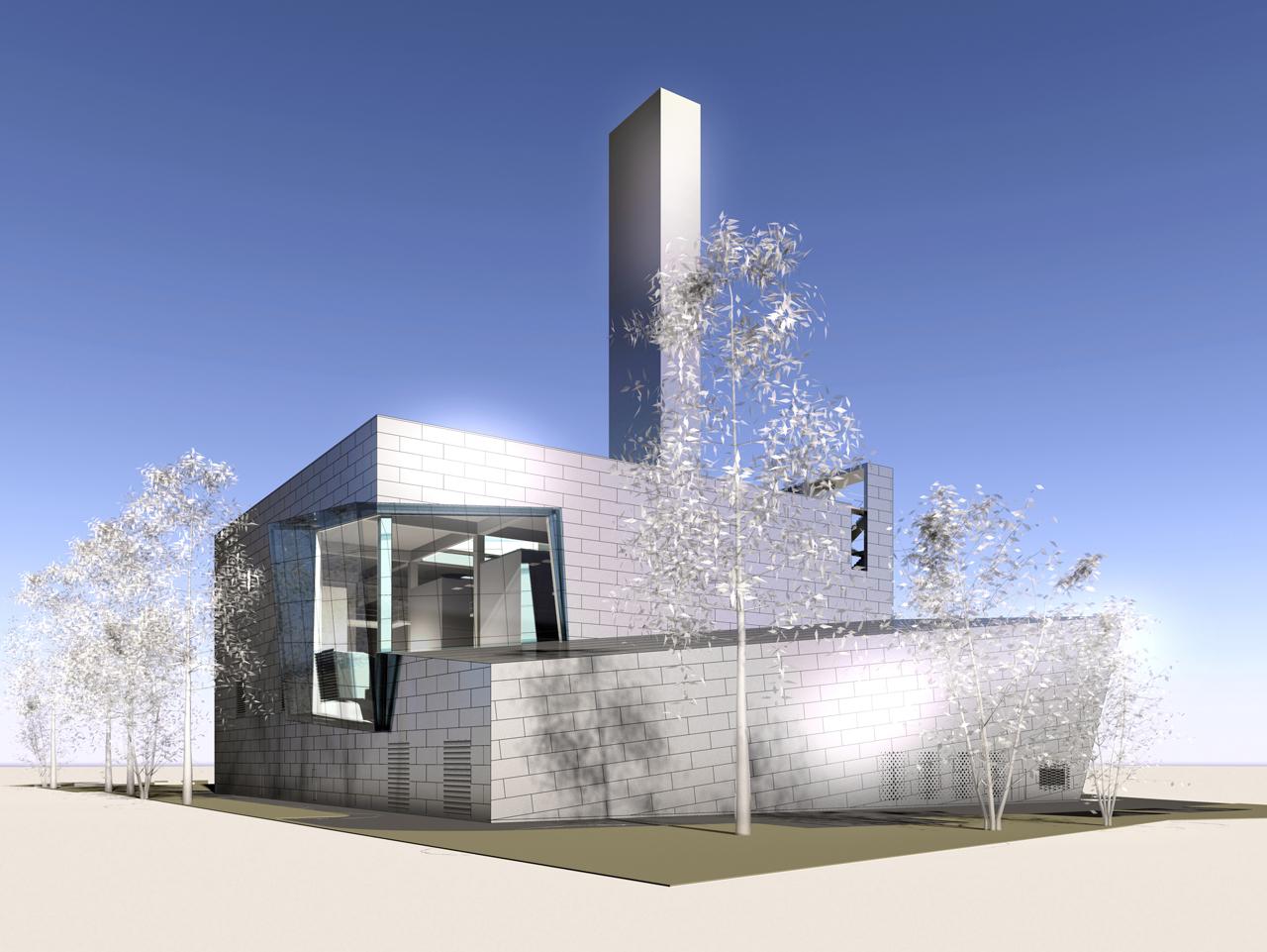 Fernheizwerk Arsenal HD Architekten